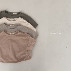 『翌朝発送』plain T-shirt〈bella bambina〉