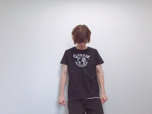 """【ロゴ・黒・GL】Grab""""A"""" Tシャツ"""