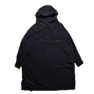 Porter Classic WEATHER ANORAK COAT ポータークラシック ウェザーアノラックコート(BLACK)