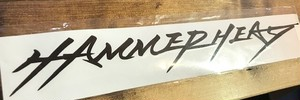 HAMMER-HEAD Handwriting Logo Sticker  Mサイズ