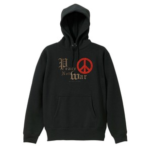 PEACE NOT WAR【FULL COLOR / PARKA】黒ボディー