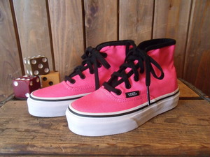 VANS★【AUTHENTIC HI】