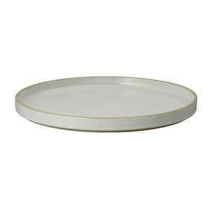 HASAMI PORCELAIN / HPM005 / Plate 255mm / Clear