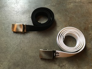 GI belt cotton webbing  / usarmy