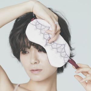 [19AW] Calcite シルクスリープマスク -Pink