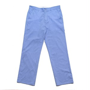 CHRYSTIE NYC / SEERSUCKER PANTS -CORNFLOWER BLUE-