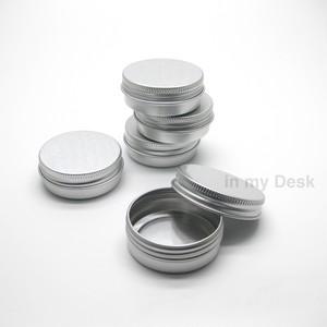 丸型 ピルケース タブレットケース 小さな ユーティリティ・ボックス アルミ缶