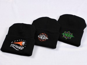 "SLOW SQUAD INTERNATIONAL ""BRONX BEANIE CAP"""