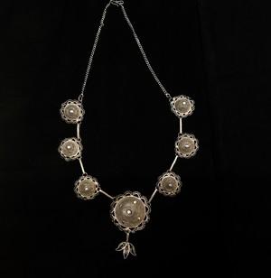 インド 銀線細工 ネックレス