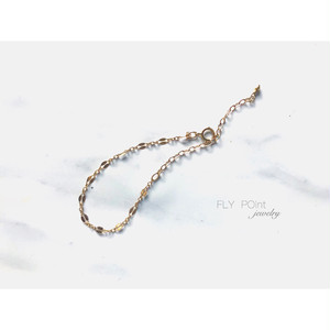 -14kgf- shine chain bracelet-