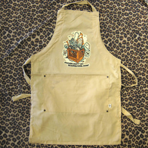 Cycle Trash 21th anniversary Shop Apron ver.2 - Crate/Oyster by Burrito Breath