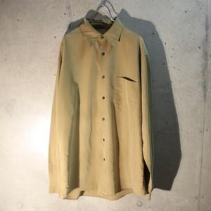 Long Sleeve Rayon Poly Shirt