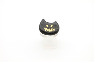 有田焼リング ハロウィン 黒猫