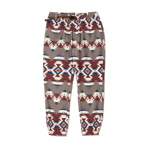 WM × PENDLETON FLEECE JOGGER PANTS - RED