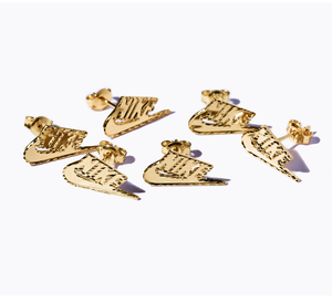 Supreme x Nike 14K Gold Earring