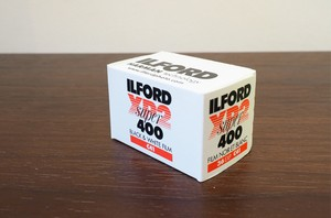 【 35mm モノクロネガ(  C-41現像用 ) 】ILFORD( イルフォード )XP2 Super400 36枚撮り