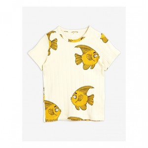 【20AW pre】 minirodini ( ミニロディーニ )  Fish ss tee Tシャツ