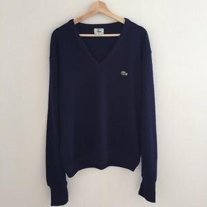 Lacoste V-neck sweater Navy