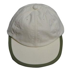 COMFORTABLE REASON / LINEN LEISURE CAP -OFF WHITE-