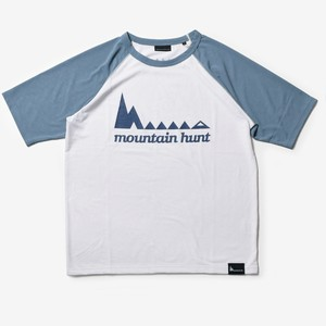 MMA×huntstored. Raglan Tee (White_Gray)