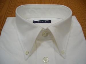 BD 半袖 プルオーバー オックスフォード無地 ホワイト  クラシックスタイル FEH9006-C11