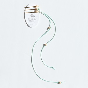 19SS line wood hair pin〈Mint〉