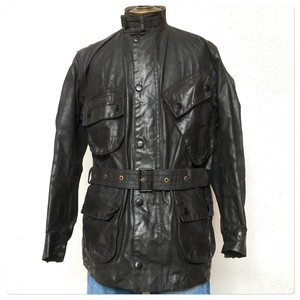 1960s Barbour International Wax Cotton Jacket 1 Crown