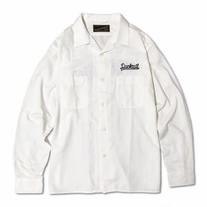 "DUCKTAIL CLOTHING LONG SLEEVE SHIRTS ""JEANNIE,JEANNIE,JEANNIE"" WHITE"