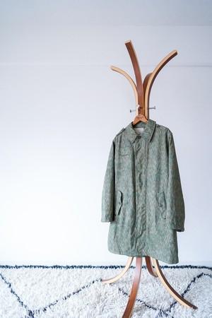 "【Deadstock】""M60"" 1960-70s Rain-Drop Camouflage Balmacaan Coat, Czechoslovakia Army"