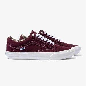 VANS / OLD SKOOL PRO / RAY BARBEE OG BURGUNDEE