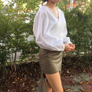 balloon sleeves blouse