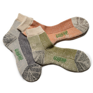 GOHEMP PIL QUARTER SOCKS/×ANONYMOUSISM
