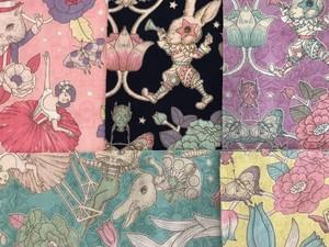 【新発売】【生地巾×100cmサイズ】Joli Fleur La Toile~SHOW TIME~