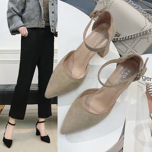 【shoes】ファッション無地ポインテッドトゥパンプス18779709