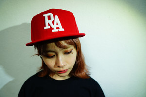 "2020 ""RA"" Logo Snap Back Cap Red"