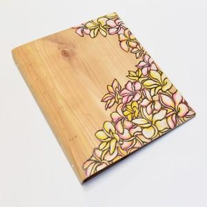 Wood File A4 【Plumeria】