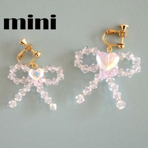 スワロリボンのイヤリング〈mini〉