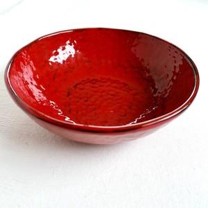 [KR30510] イタリアンレッドの大鉢