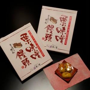 栗味噌饅頭(18個入)