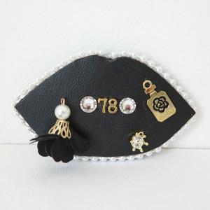 マニチョコ&78コラボ ブローチ:M&C78-F ¥5,800+tax