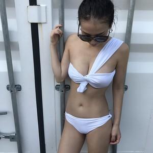 Bikini♡ワンショルダーフロントツイストビキニ