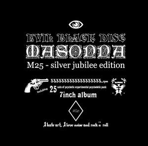 MASONNA「EVIL BLACK DISC」  (7inch record aibum)