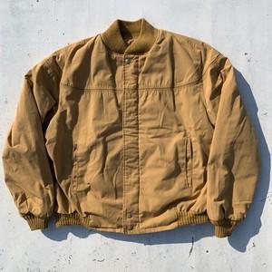 70's 80's Catalina カタリナ Versity Jacket バーシティージャケット ベージュ