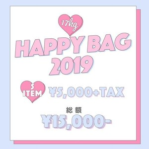 【即納♡】Happy Bag 2019♡ 8713