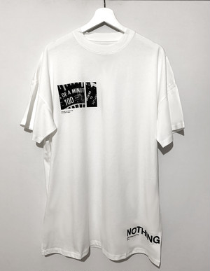 Get Up Tee White