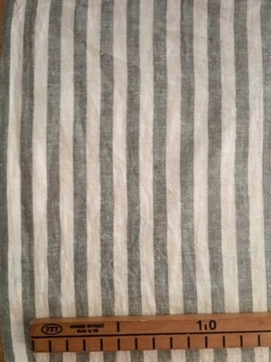 Cotton  ベンガル / ブルーグレーストライプ