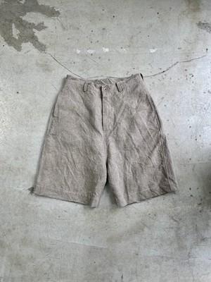 "DA'S/Balboa Shorts ""2021"" vintage linen(ダズのバルボアショーツ「ヴィンテージリネン」)"