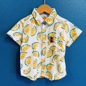 スイカのキッズアロハシャツ