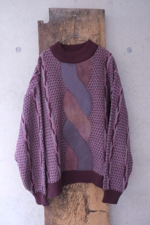 genome knit sweater.