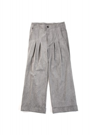 meagratia / sumi dyed wide PT / gry / size 2